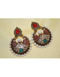 Antitque Bali Earrings - S29 - 97